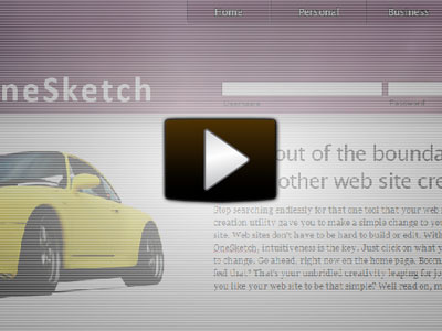 OneSketch Video Demo